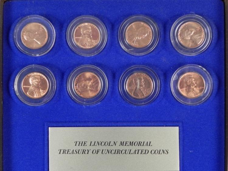 Kennedy Mint Historical U.S. Coin Collection in Case - 5