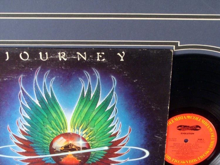 Journey Evolution Record Album in Custom Frame - 2
