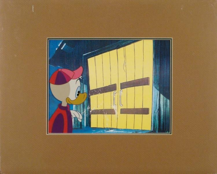 Huey Donald Duck Disney Orig Fanta Ad Production Cel