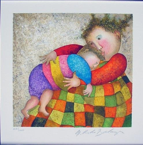 AMOUR TENDRESSE LE Art Print Boulanger Mother + Child