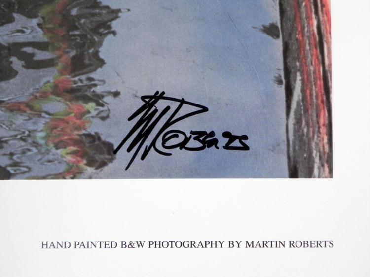 3 Martin Roberts Signed Photographs European Streets - 3