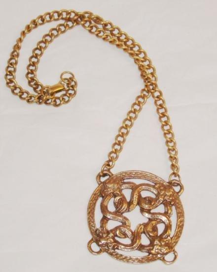 Dragon Pendant Necklace Circa 72- Alva Museum