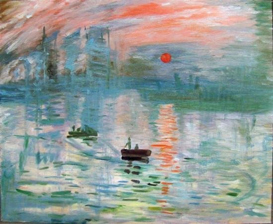 Original Oil by a student of Claude Monet