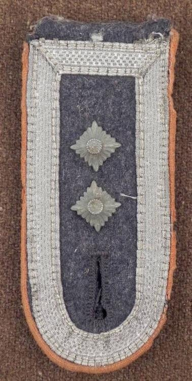 NAZI ARMY OFFICER'S SHOULDER BOARD