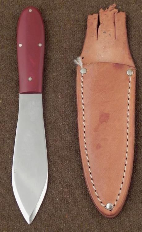 CASE XX 303 SPEAR POINT THROWING KNIFE