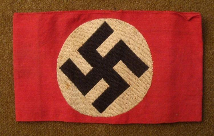 ORIGINAL NSDAP NAZI PARTY ARMBAND