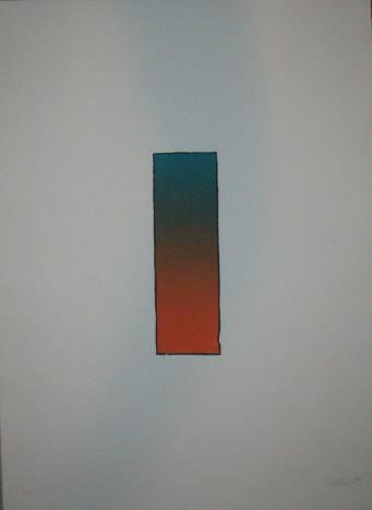 Larry Bell Signed LE Art Print Etching