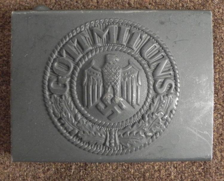 Nazi German Army WWII Belt Buckle