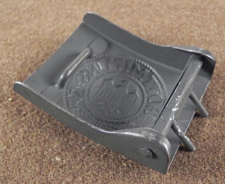 Nazi German Army WWII Belt Buckle - 2