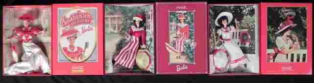 3 Barbies CocaCola Fashion Coke Dolls 13