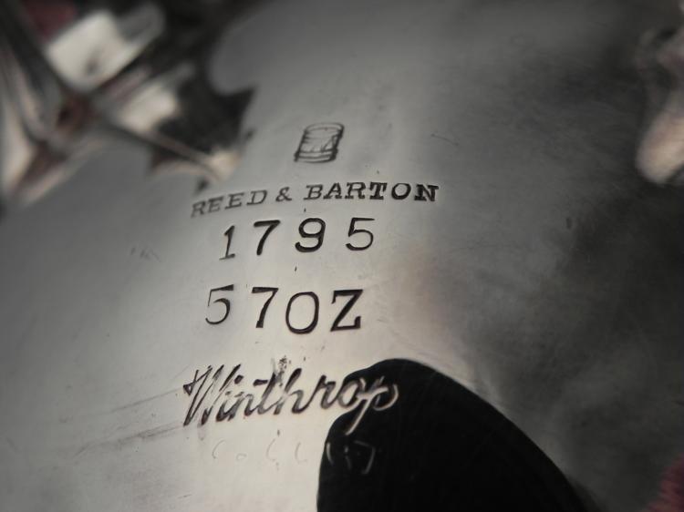 Reed & Barton Winthrop 1795 Silver Plated Tea & Coffee - 5