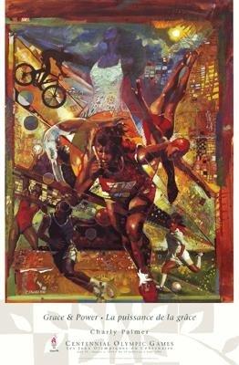 Charly Palmer Grace & Power 1996 Olympics Art Print