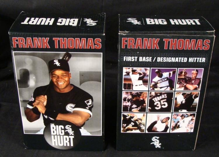 2 Chicago White Sox Frank Thomas Retirement Bobbleheads