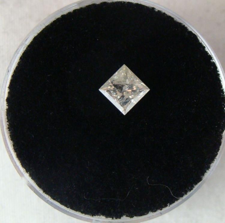 .60 Carat White Diamond Grade I I-1 Clarity