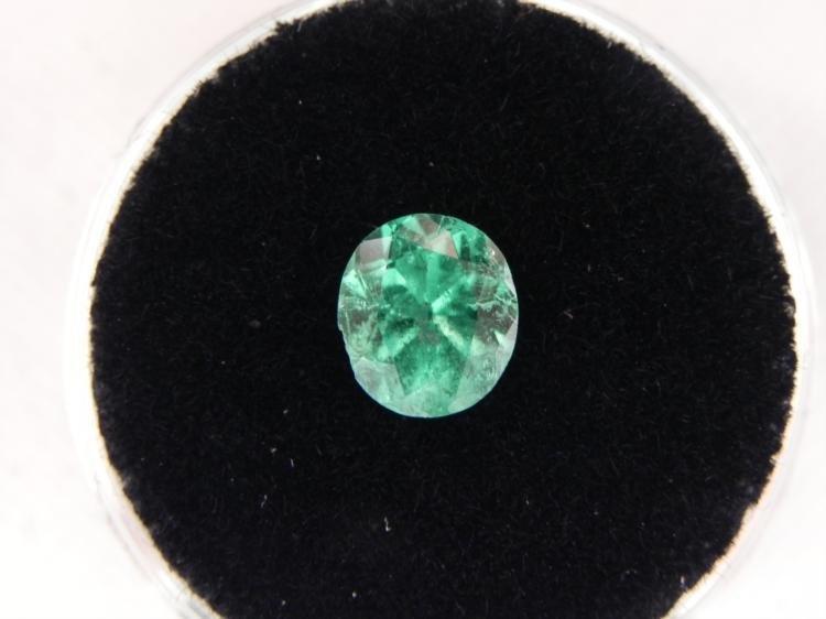 1.26 Carat Bright Glowing Green Gemstone