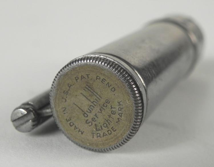 WWII GI SERVICE COMBAT FIELD LIGHTER BY DUNHILL - 3