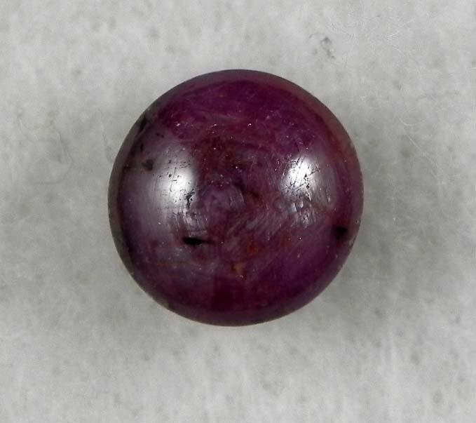 7.80 Carat Natural Cabochon Ruby Star Gemstone