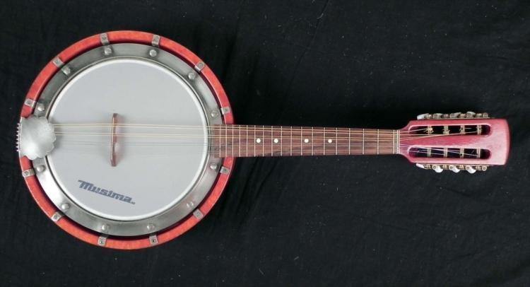 Musima 8 String Vintage Banjo East Germany