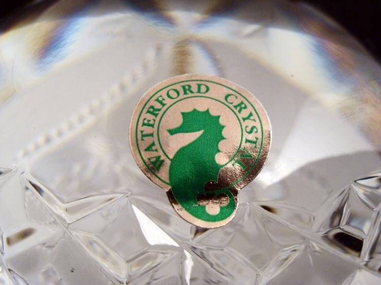Waterford Crystal Barbie Doll Paperweight MIB Rare - 3
