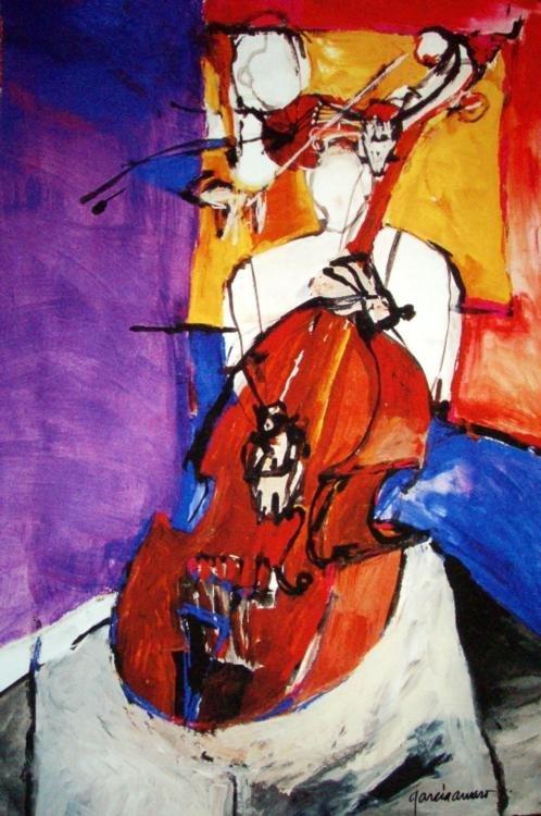 Cecilia Garcia Amaro Ltd Signed Art Print Son de Alma