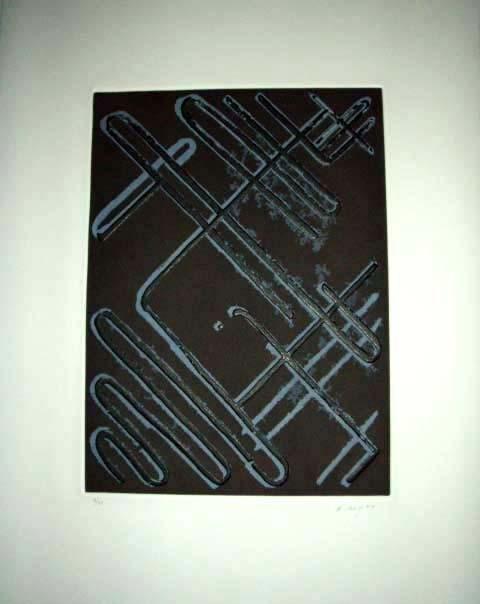 Ed Moses Signed LE Art Print Eloi Vador