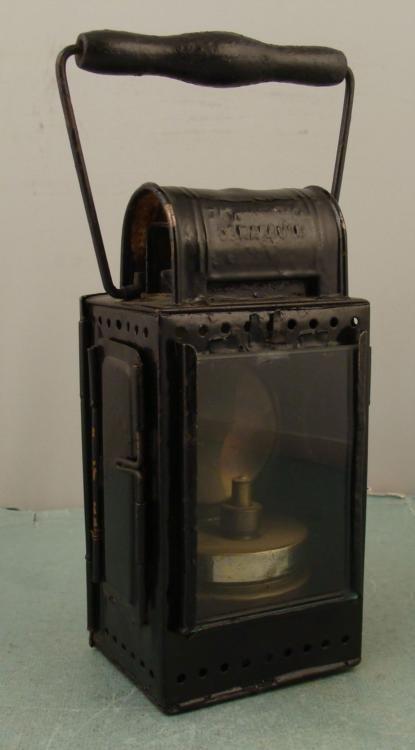Osnabruck Antique Tin German Miners Carbide Lantern
