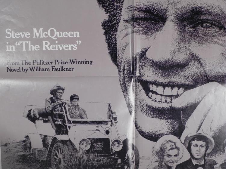 Steve McQueen The Reivers Movie Poster - 2