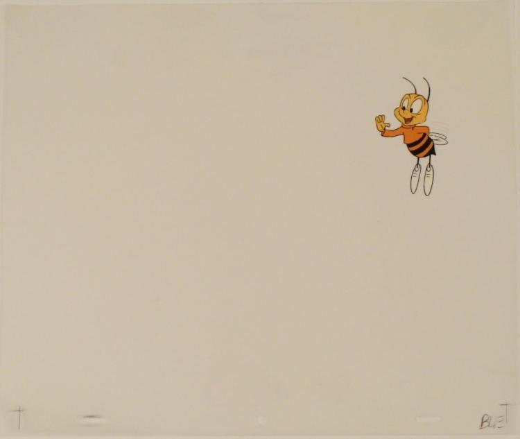Production Art Cel Buzz Cheerios Cereal Original Bee