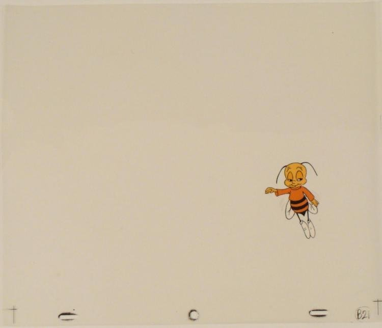 Cheerios Honey Nut Bee Buzz Original Cel Animation Art