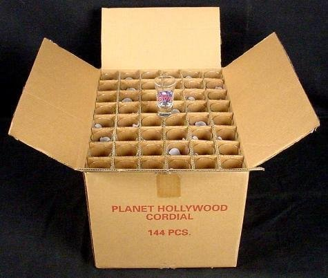 Planet Hollywood FT. LAUDERDALE Shot Glass Case 144 MIB