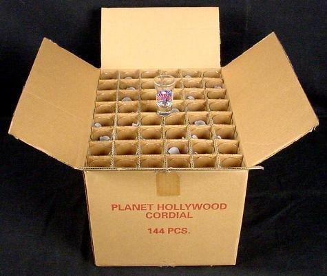 Planet Hollywood ASPEN Shot Glass Case of 144 MIB
