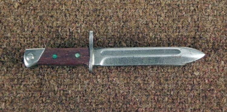 RARE ORIGINAL NAZI K98 BAYONET BADGE PIN