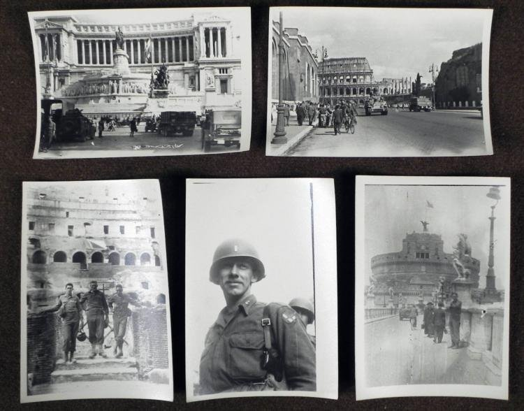 5 ORIGINAL WWII PHOTOS OF AFTER THE OCCUPATION OF ITALY