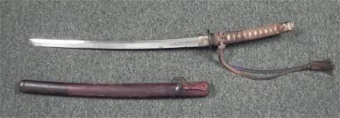 JAPANESE WAKIZASHI SAMURAI SWORD 400 YEARS OLD ORIG