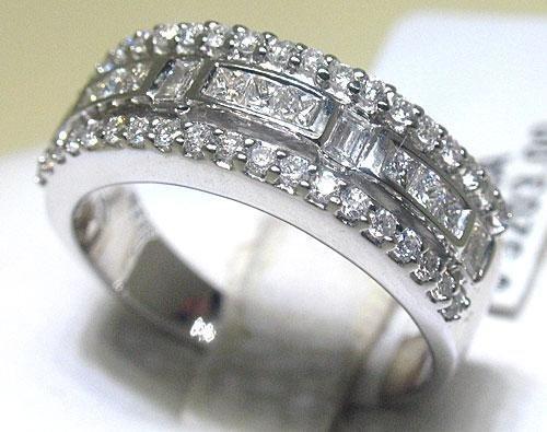 All Diamonds 18K White Gold Ring
