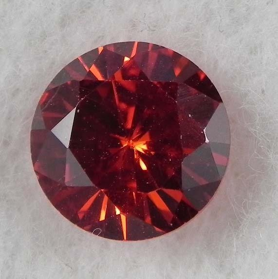 6.5ct Natural Gemstone Round Shaped Pomegranate