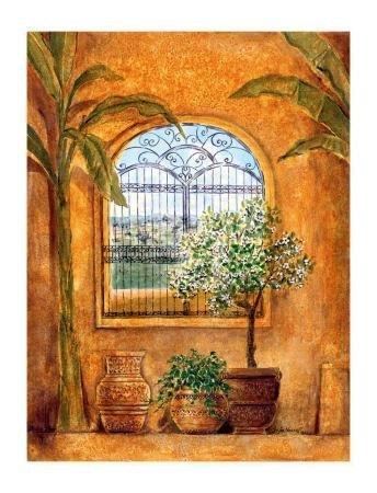 Suzie Vuong Art Print Window in the Tropics II