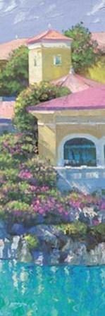 Howard Behrens Art Print Lago Bellagio Panel I