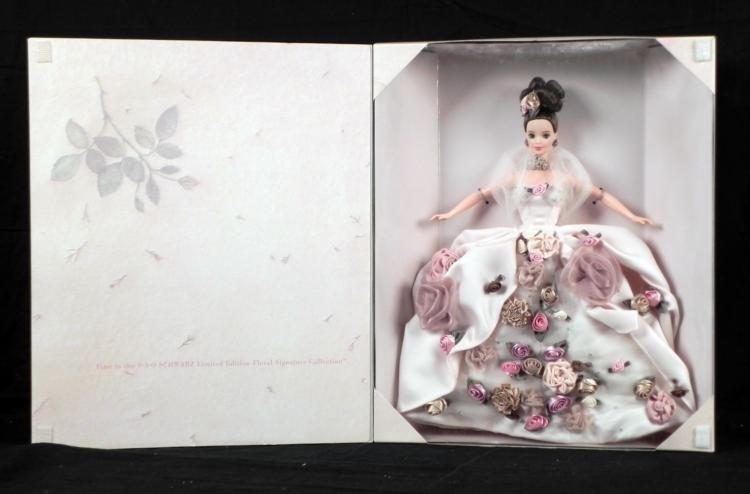 Antique Rose Barbie Doll Ltd. Edition FAO Schwartz MIB