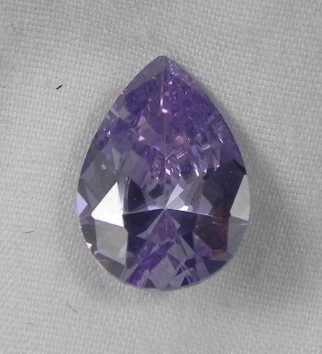 5.56 Ct. Natural Light Purple Pear Gemstone