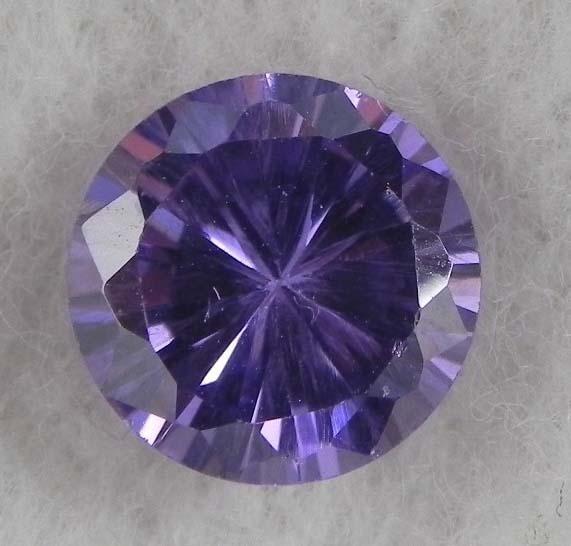 6.5ct Natural Gemstone Round Shaped Light Purple