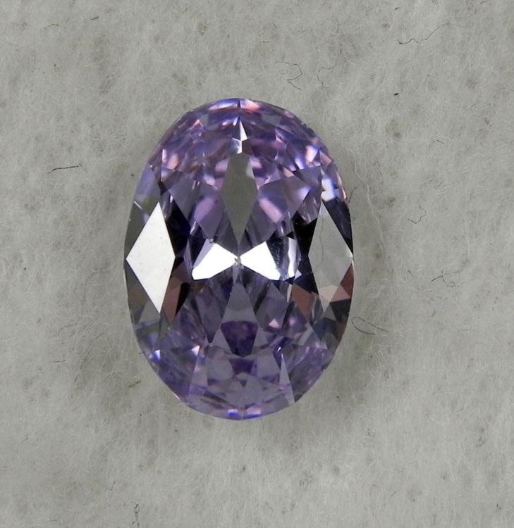 8.0 ct NaturalGemstone Oval Shaped Light Purple