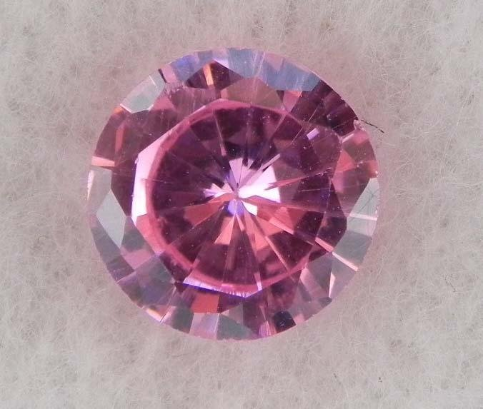 6.5ct Natural Gemstone Round Shaped Pink Color