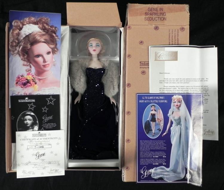 Gene Doll In Sparkling Seduction MIB w/ Paperwork, COA