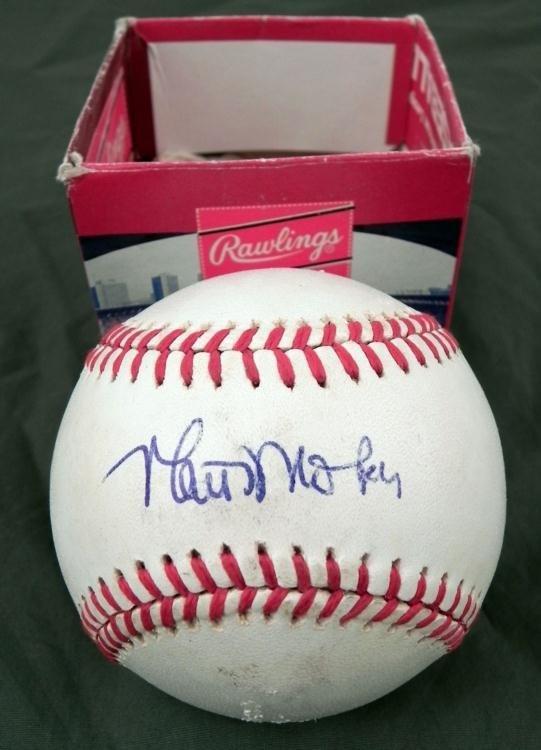 Matt Nokes Detroit Tigers Signed Baseball