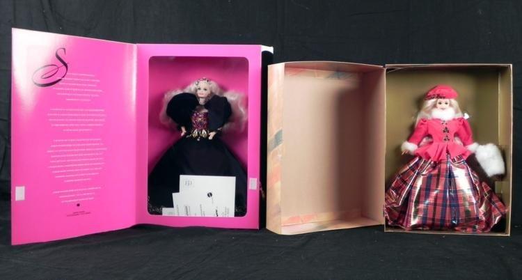 Jeweled Splendor and Jewel Princess Barbie Doll MIB