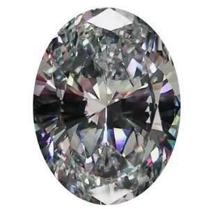 GT0611120023 3 Ct. Oval cut VVS1 Color BIANCO diamonde.