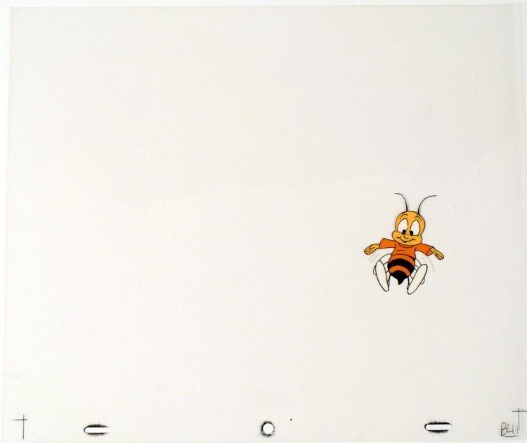 Cheerful Bee Cel Buzz Cheerios Cereal Orig Animation