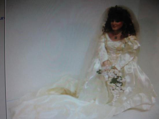 Princess Sarah Doll Dutchess of York in Bridal Gown.