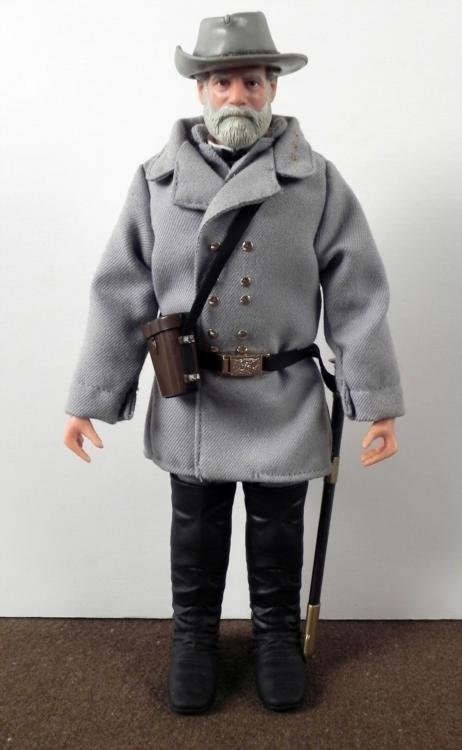 1998 HASBRO ROBERT E. LEE FIGURE DOLL- UNIFORM & SWORD